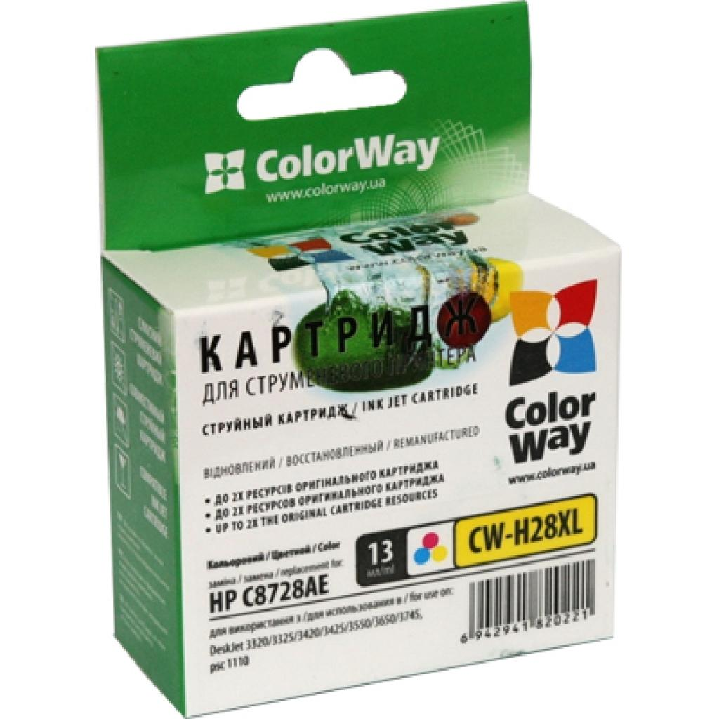 Картридж ColorWay HP №28XL Color (CW-H28XL)