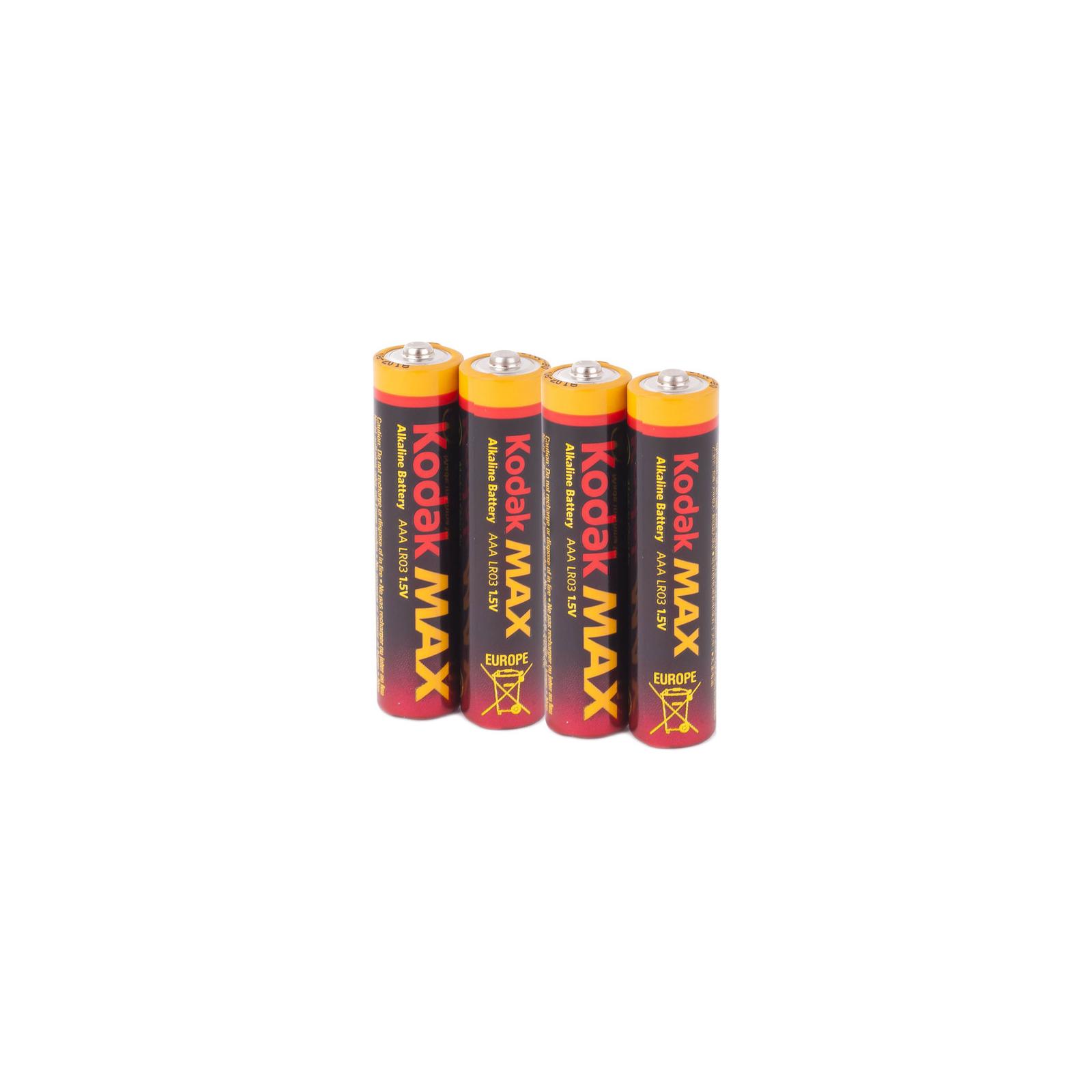 Батарейка Kodak LR06 KODAK MAX * 4 (30952867) изображение 2