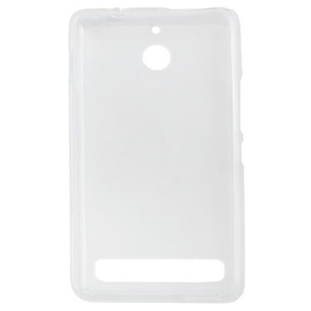 Чехол для моб. телефона для Sony Xperia E1 (White Clear) Elastic PU Drobak (212291) изображение 2