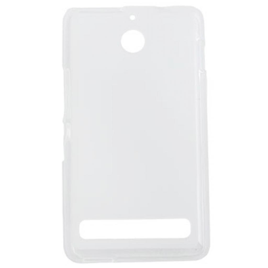 Чехол для моб. телефона для Sony Xperia E1 (White Clear) Elastic PU Drobak (212291)