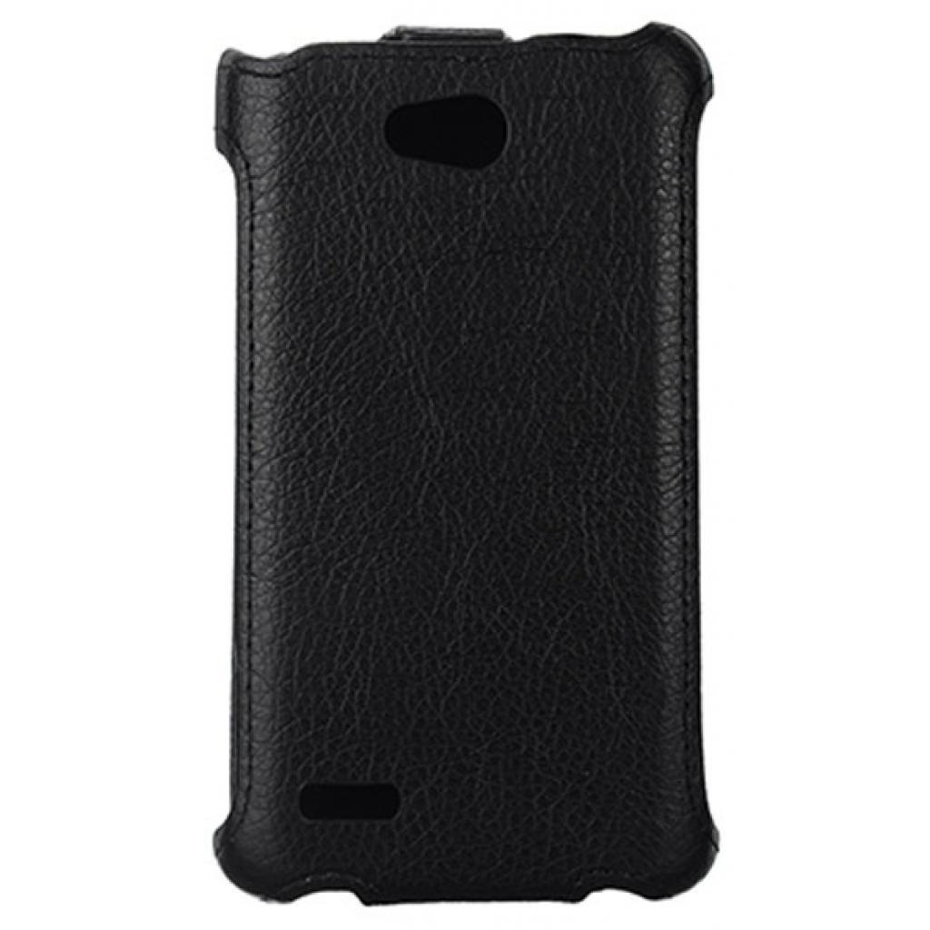 Чехол для моб. телефона Vellini для LG L80 (D380) Black /Lux-flip/ (215519) (215519) изображение 2