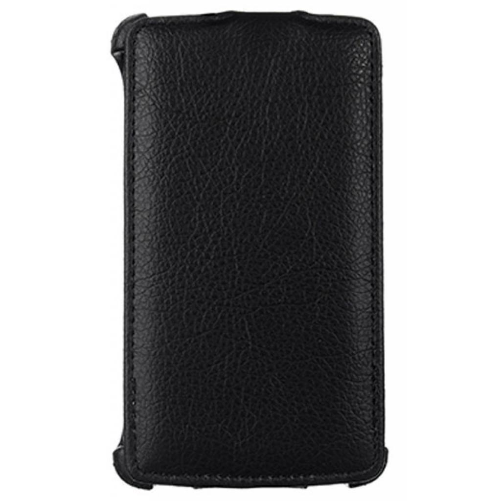 Чехол для моб. телефона Vellini для LG L80 (D380) Black /Lux-flip/ (215519) (215519)