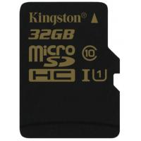 Карта памяти Kingston 32Gb MicroSD class 10 UHS-I (SDCA10/32GBSP)