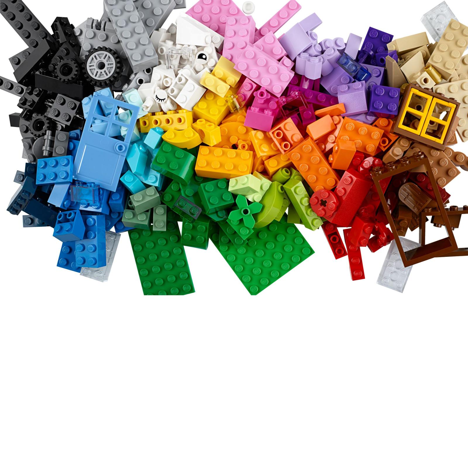 Конструктор LEGO Classic Набор кубиков для свободного конструирования (10702) изображение 11