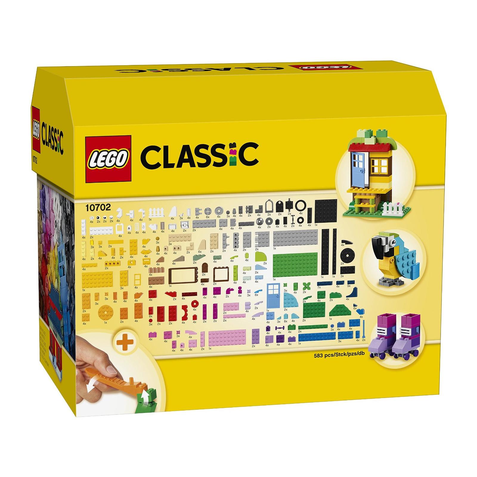 Конструктор LEGO Classic Набор кубиков для свободного конструирования (10702) изображение 12