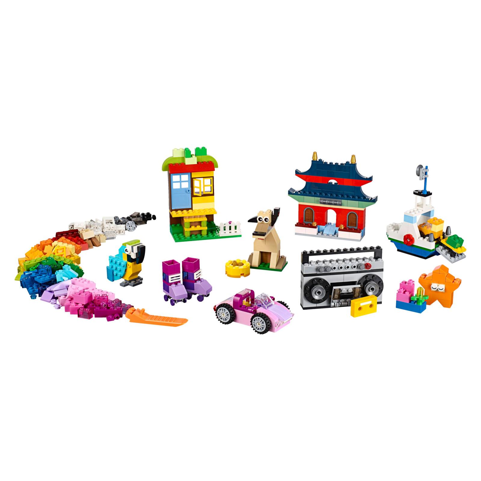Конструктор LEGO Classic Набор кубиков для свободного конструирования (10702) изображение 2