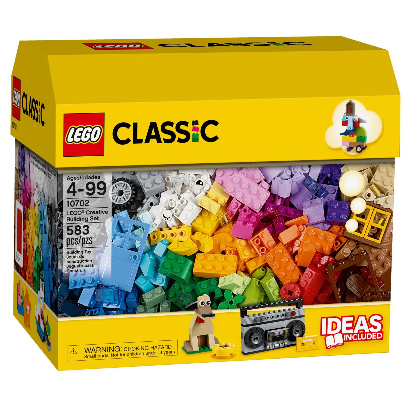 Конструктор LEGO Classic Набор кубиков для свободного конструирования (10702)