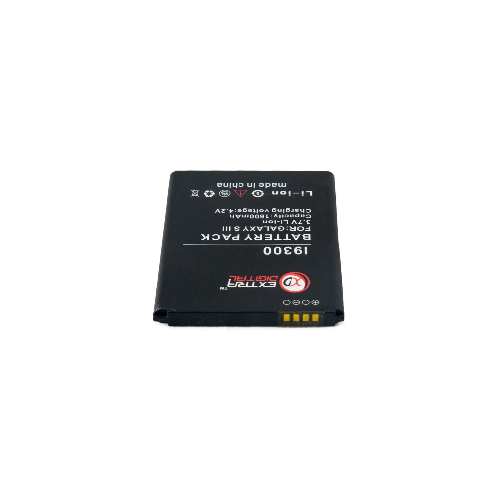 Аккумуляторная батарея EXTRADIGITAL Samsung GT-i9300 Galaxy S3 (BMS6313) изображение 6