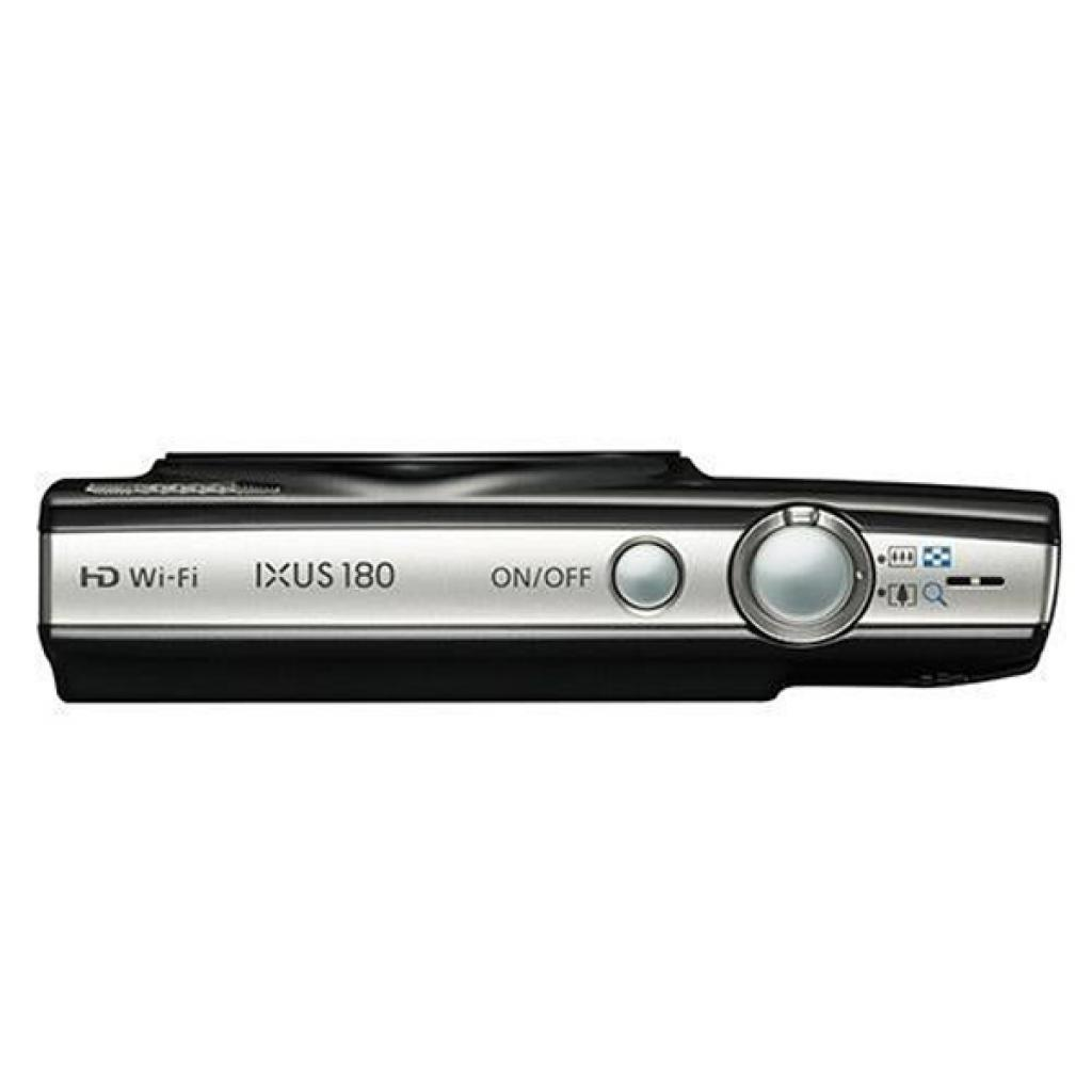 Цифровой фотоаппарат Canon IXUS 180 Black (1085C010) изображение 5