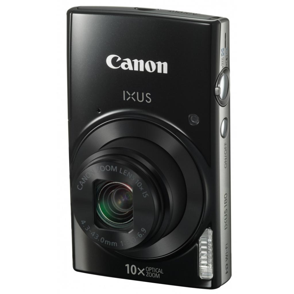 Цифровой фотоаппарат Canon IXUS 180 Black (1085C010) изображение 6