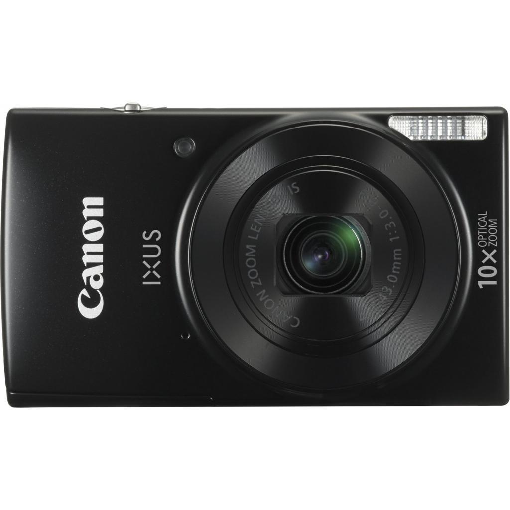 Цифровой фотоаппарат Canon IXUS 180 Black (1085C010)