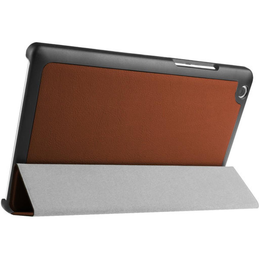 Чехол для планшета AirOn для Lenovo Tab 2 A8 brown (4822352778880) изображение 5
