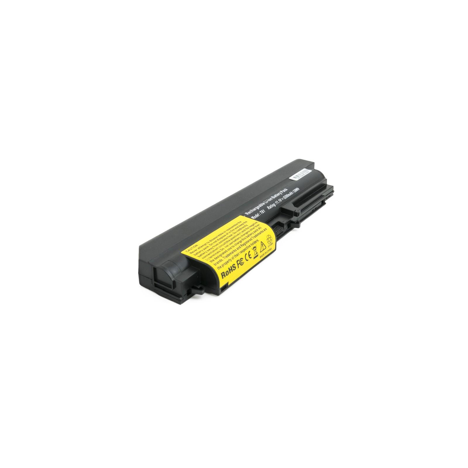 Аккумулятор для ноутбука Lenovo T61 5200 mAh EXTRADIGITAL (BNL3952) изображение 2