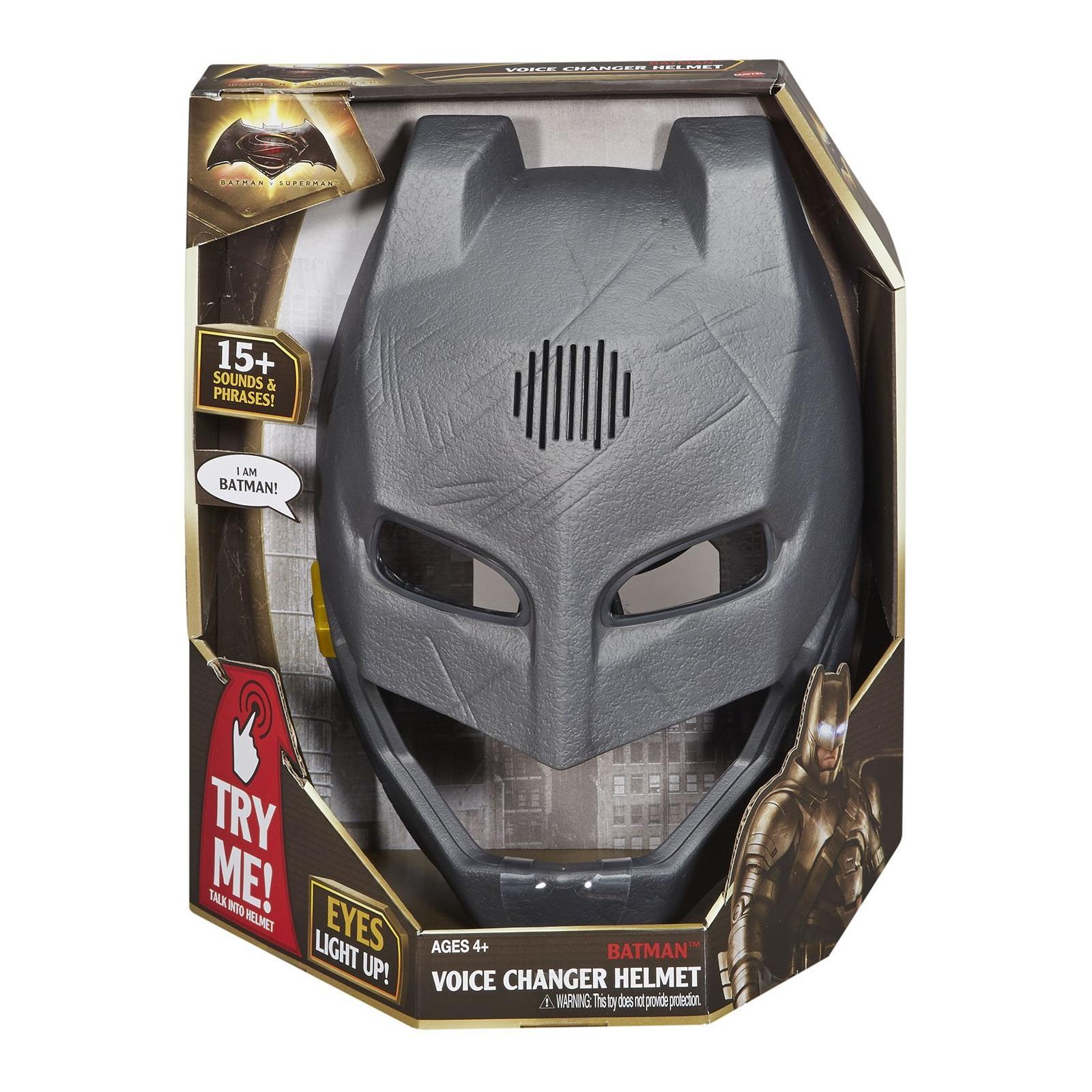 Игровой набор Mattel Шлем Бэтмен против Супермена (DHY31)