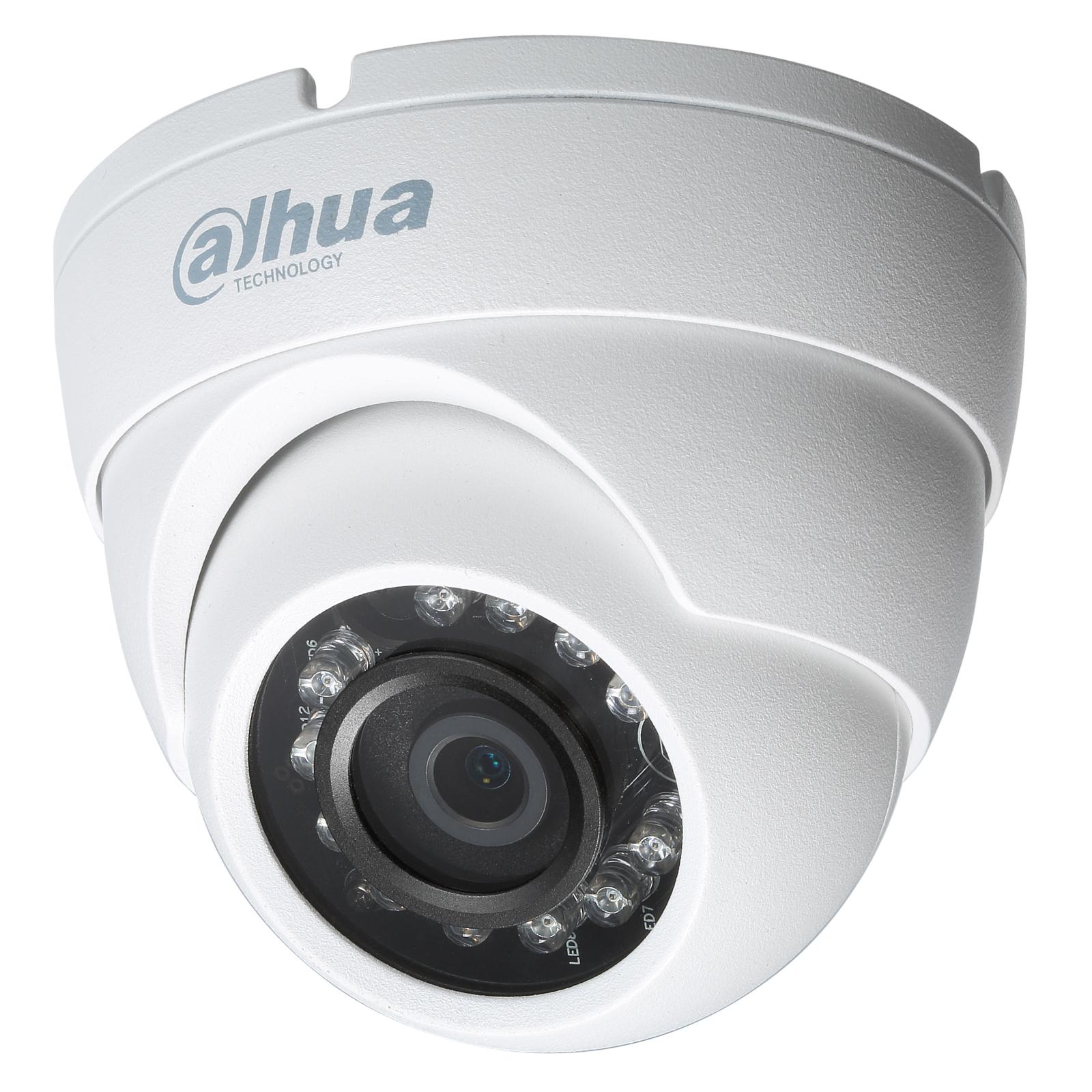 Камера видеонаблюдения Dahua HAC-HDW1100M White