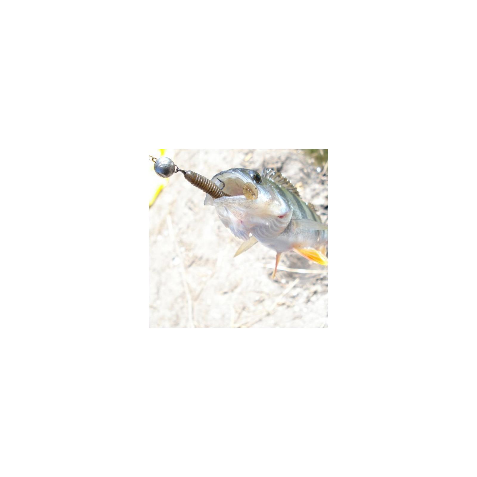 """Силикон рыболовный Keitech Swing Impact 2.5"""" (10 шт/упак) ц:pal#10 bumblebee (1551.06.63) изображение 2"""