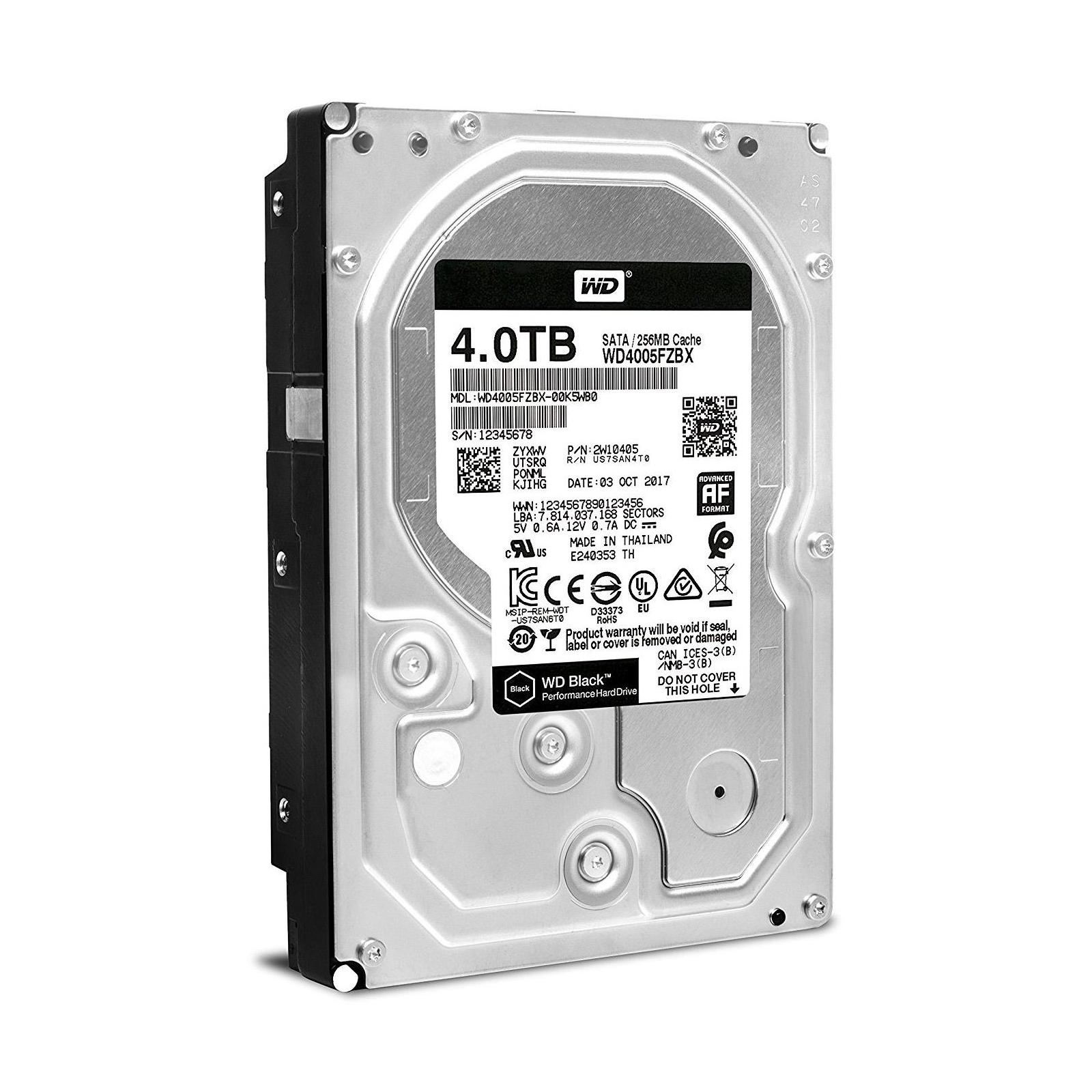 """Жесткий диск 3.5"""" 4TB WD (WD4005FZBX) изображение 2"""