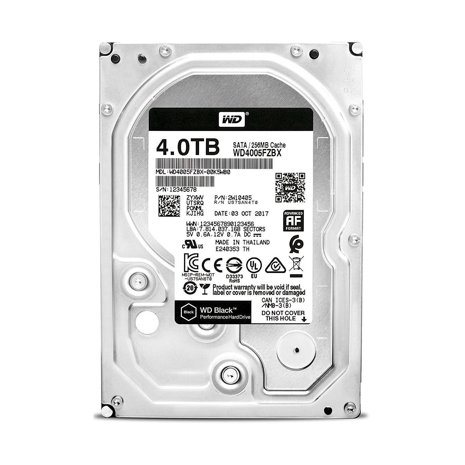 """Жесткий диск 3.5"""" 4TB WD (WD4005FZBX)"""