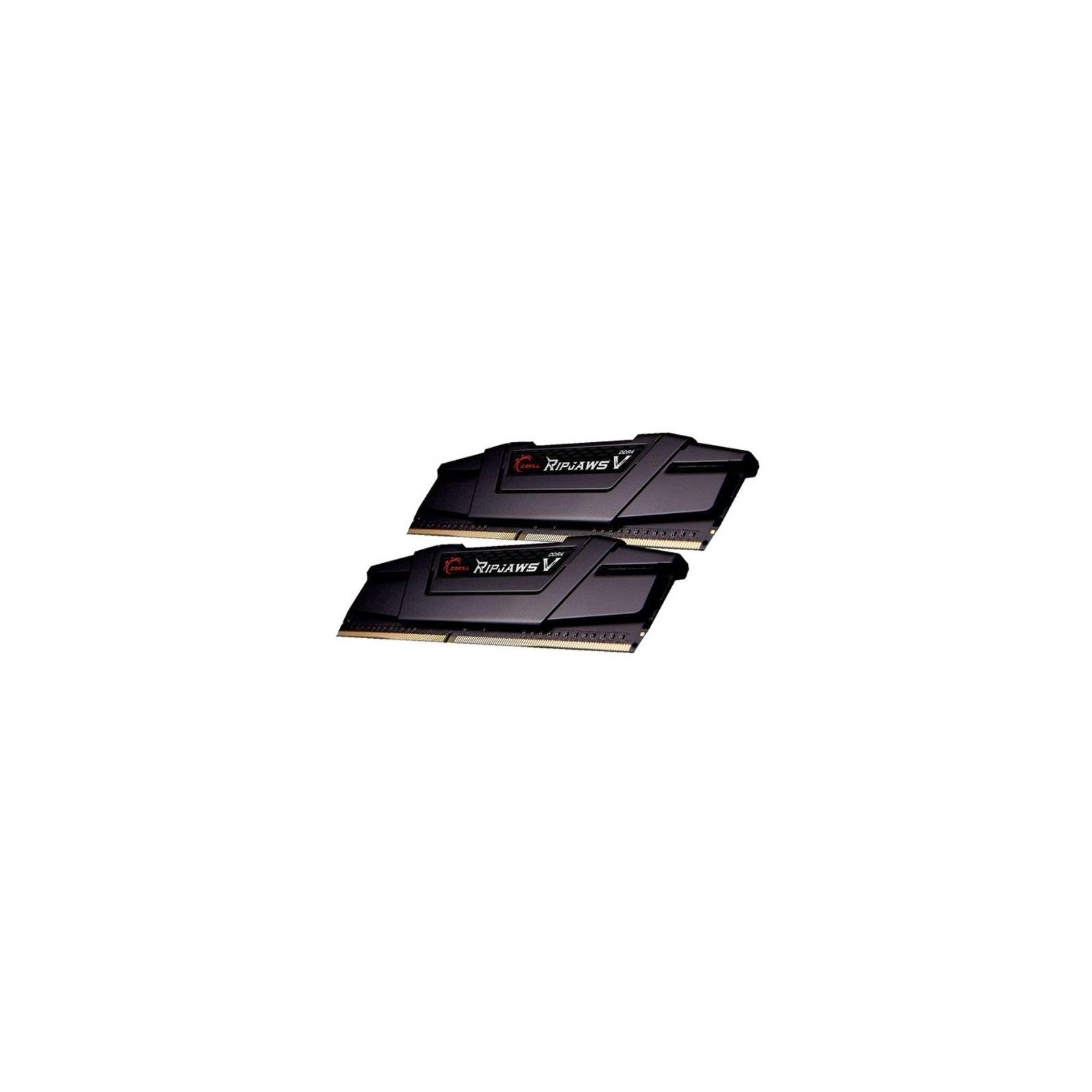 Модуль памяти для компьютера DDR4 16GB (2x8GB) 3200 MHz RipjawsV G.Skill (F4-3200C14D-16GVK) изображение 2