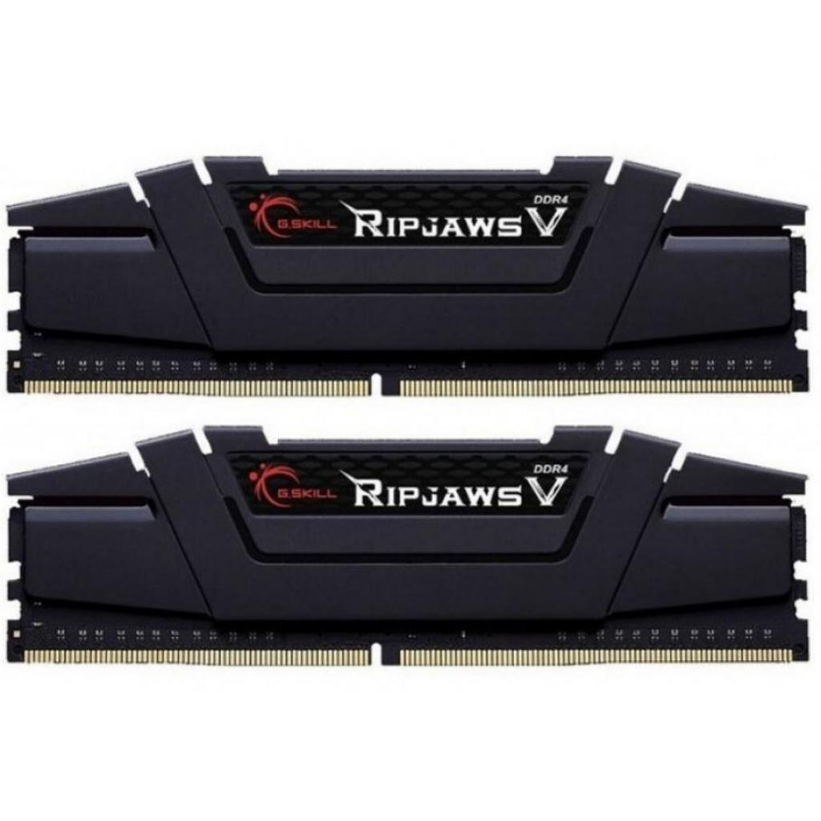 Модуль памяти для компьютера DDR4 16GB (2x8GB) 3200 MHz RipjawsV G.Skill (F4-3200C14D-16GVK)
