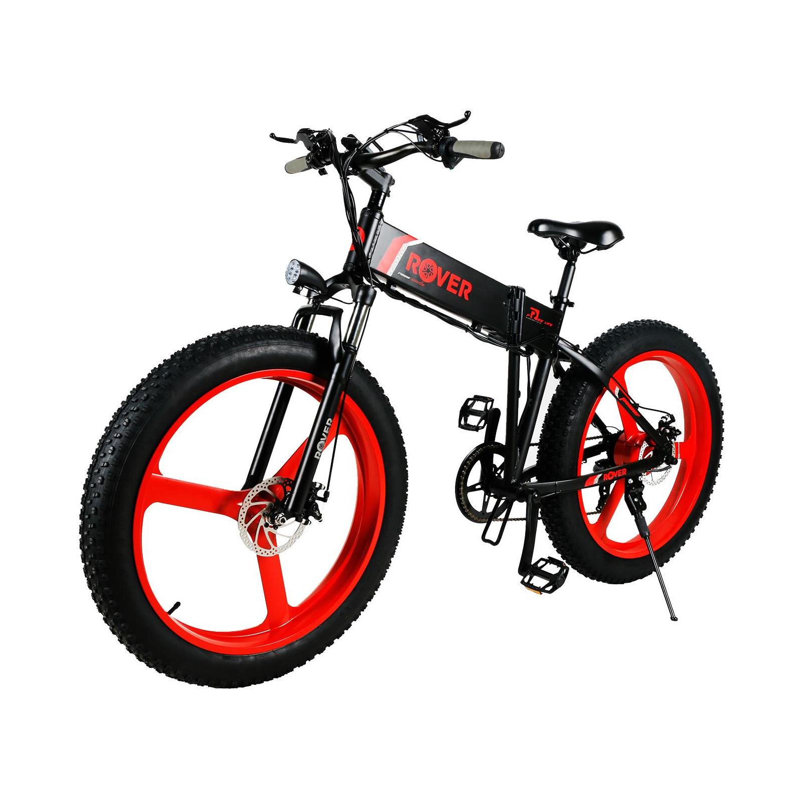 Электровелосипед Rover Monster 1 Spider Red (345271) изображение 2