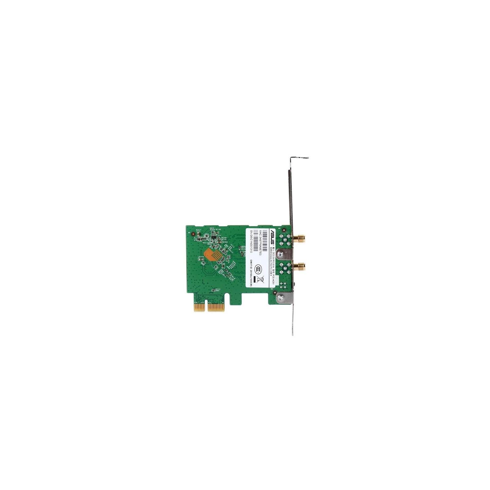 Сетевая карта Wi-Fi ASUS PCE-AC51 изображение 3