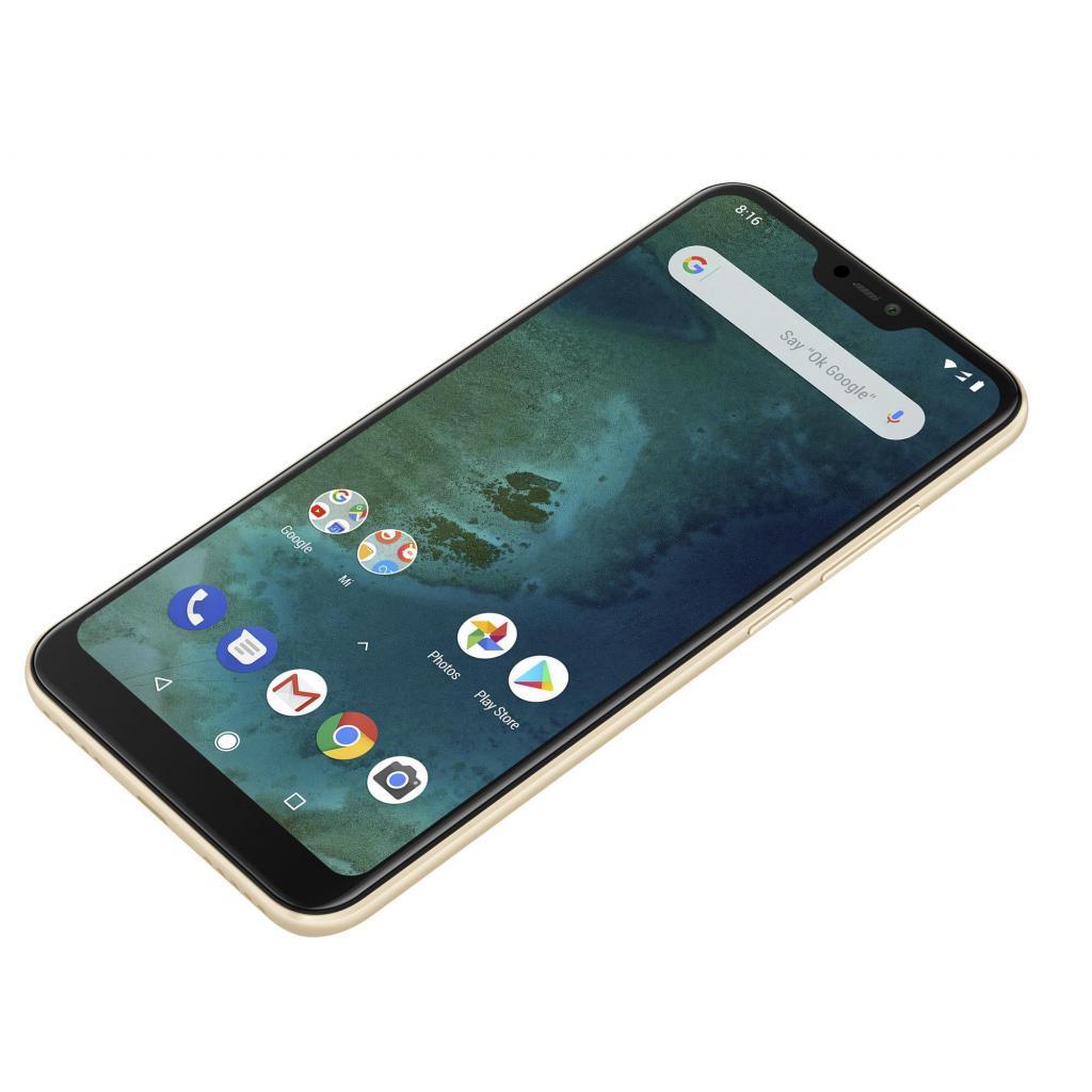 Мобильный телефон Xiaomi Mi A2 Lite 4/64 Gold изображение 7