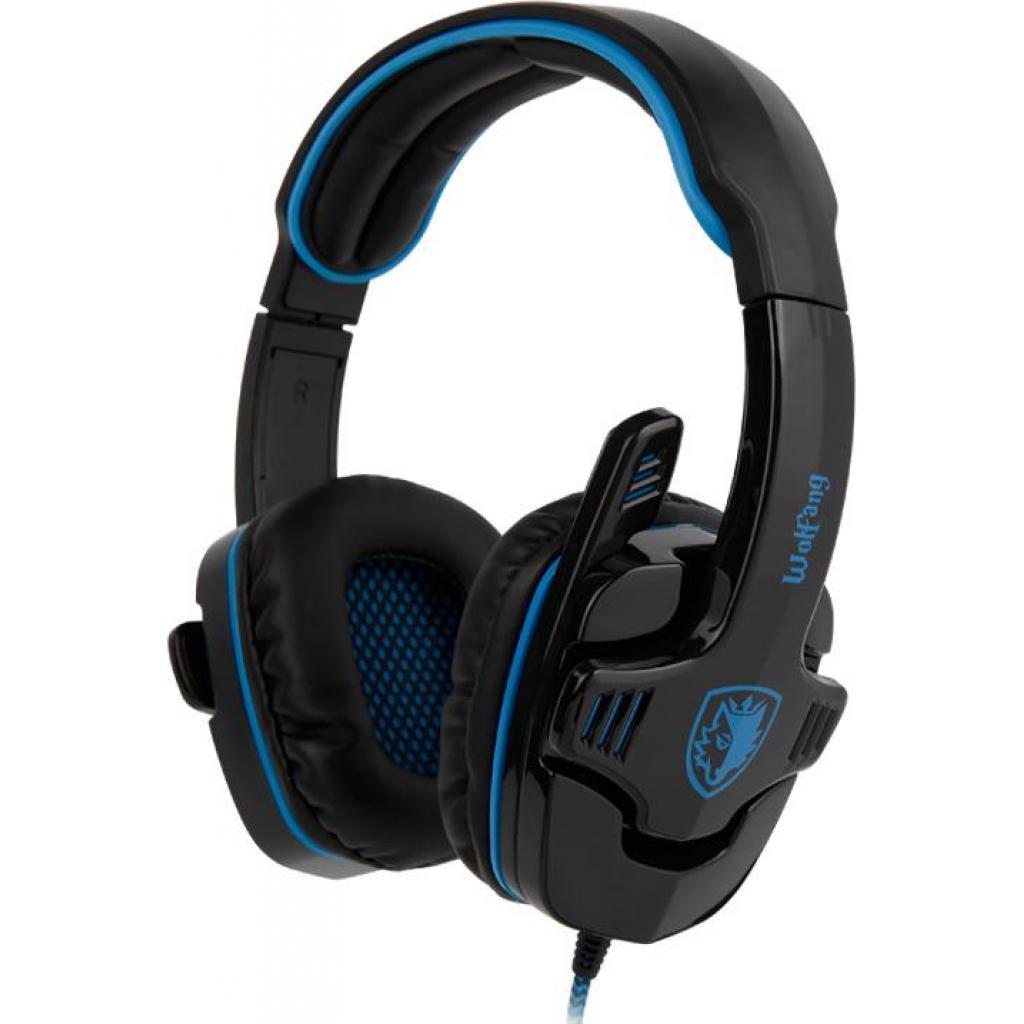 Наушники SADES Wolfang Black/Blue (SA901-B-BL) изображение 2