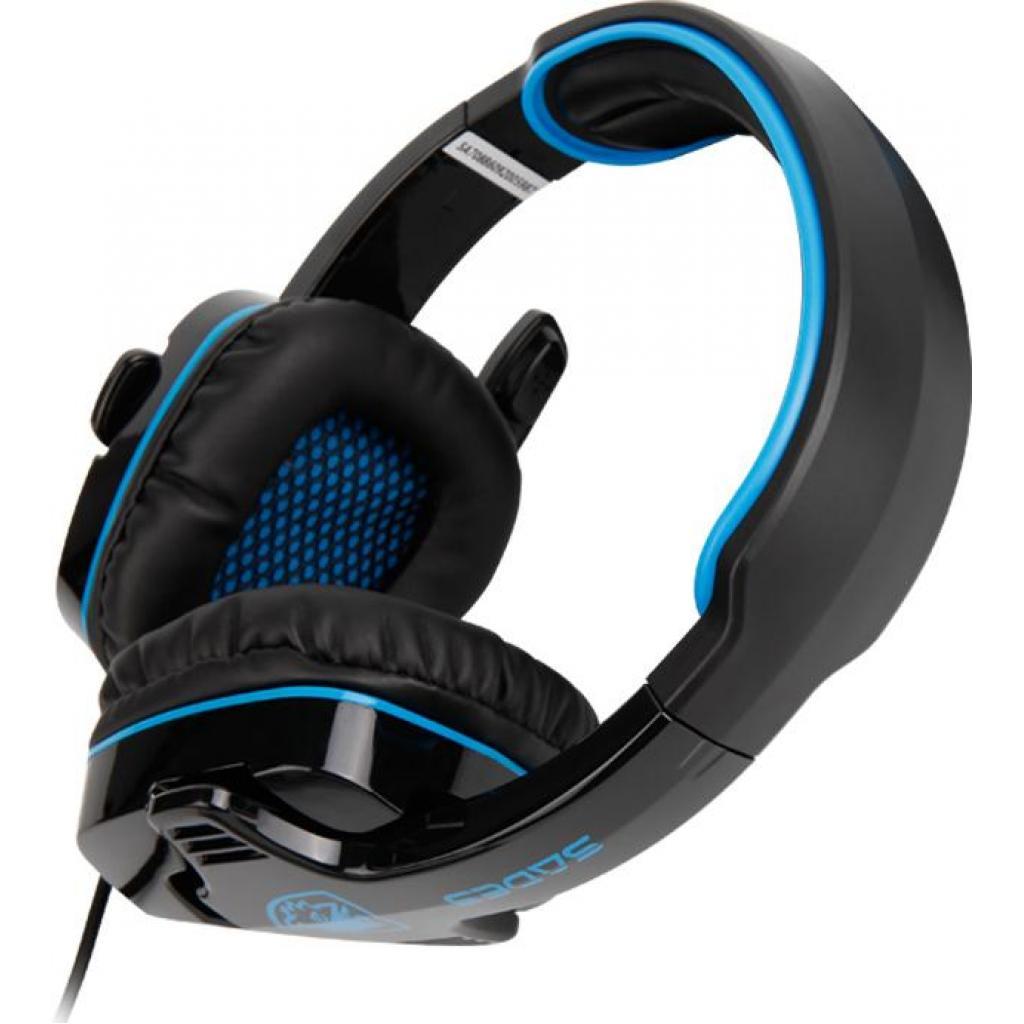 Наушники SADES Wolfang Black/Blue (SA901-B-BL) изображение 6