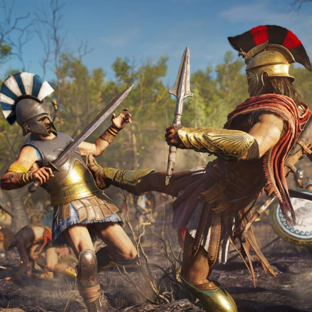 Игра SONY Assassin's Creed:Одиссея[Blu-Rayдиск] PS4 (8112707) изображение 4