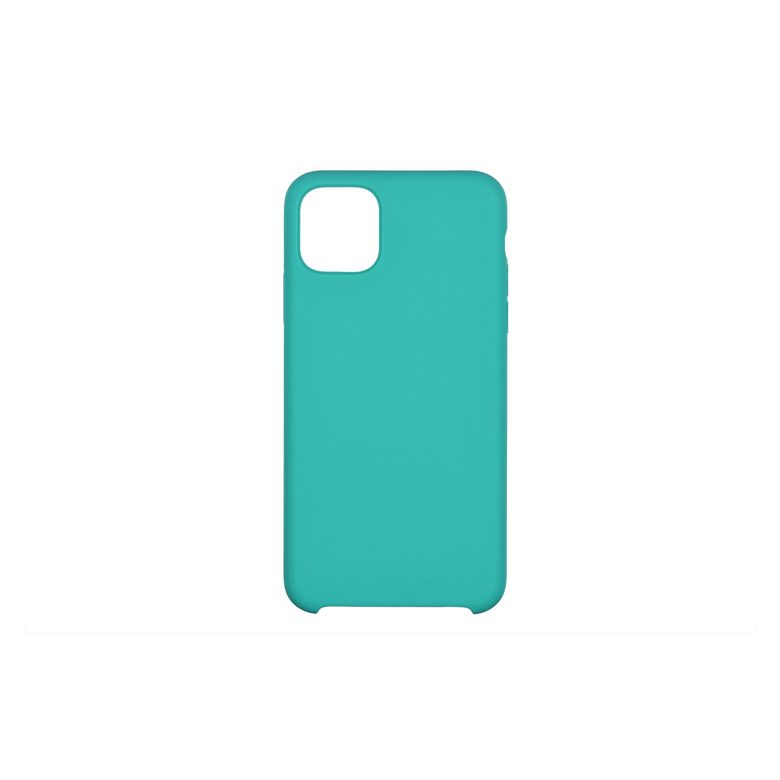 "Чехол для моб. телефона 2E Apple iPhone 11 (6.1""), Liquid Silicone, Dark Green (2E-IPH-11-OCLS-DG)"