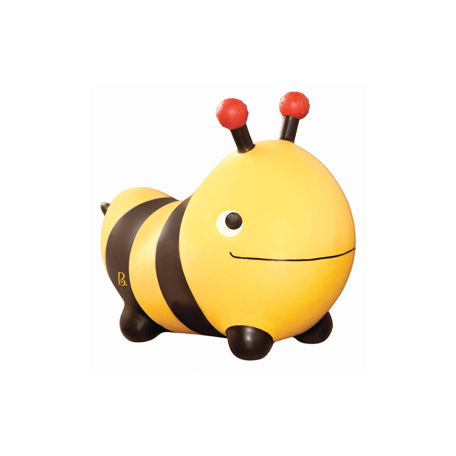Качалка Battat Баттатопрыгун Пчела-ла-ла с насосом Черный с желтым (BX1455Z) изображение 2