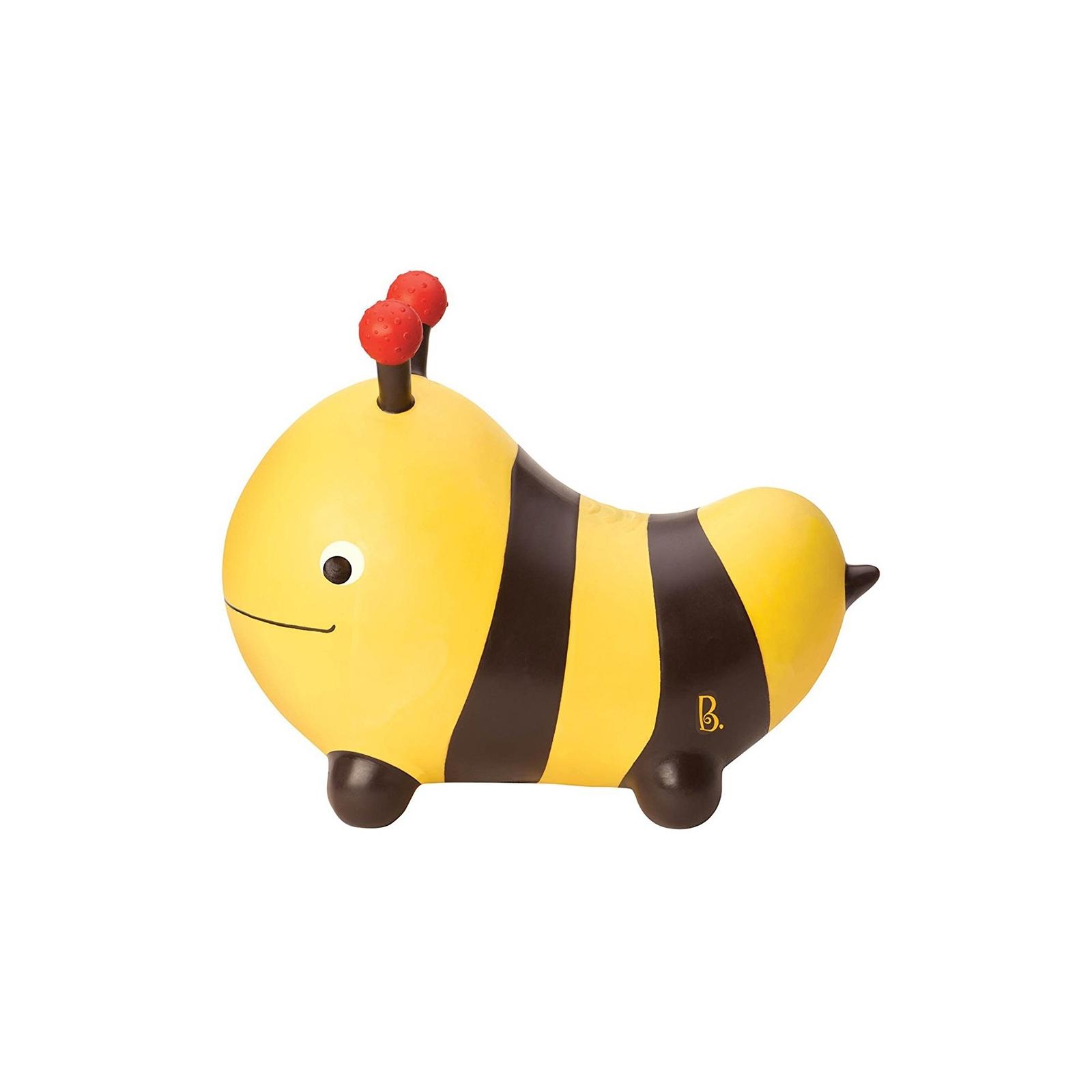 Качалка Battat Баттатопрыгун Пчела-ла-ла с насосом Черный с желтым (BX1455Z) изображение 3