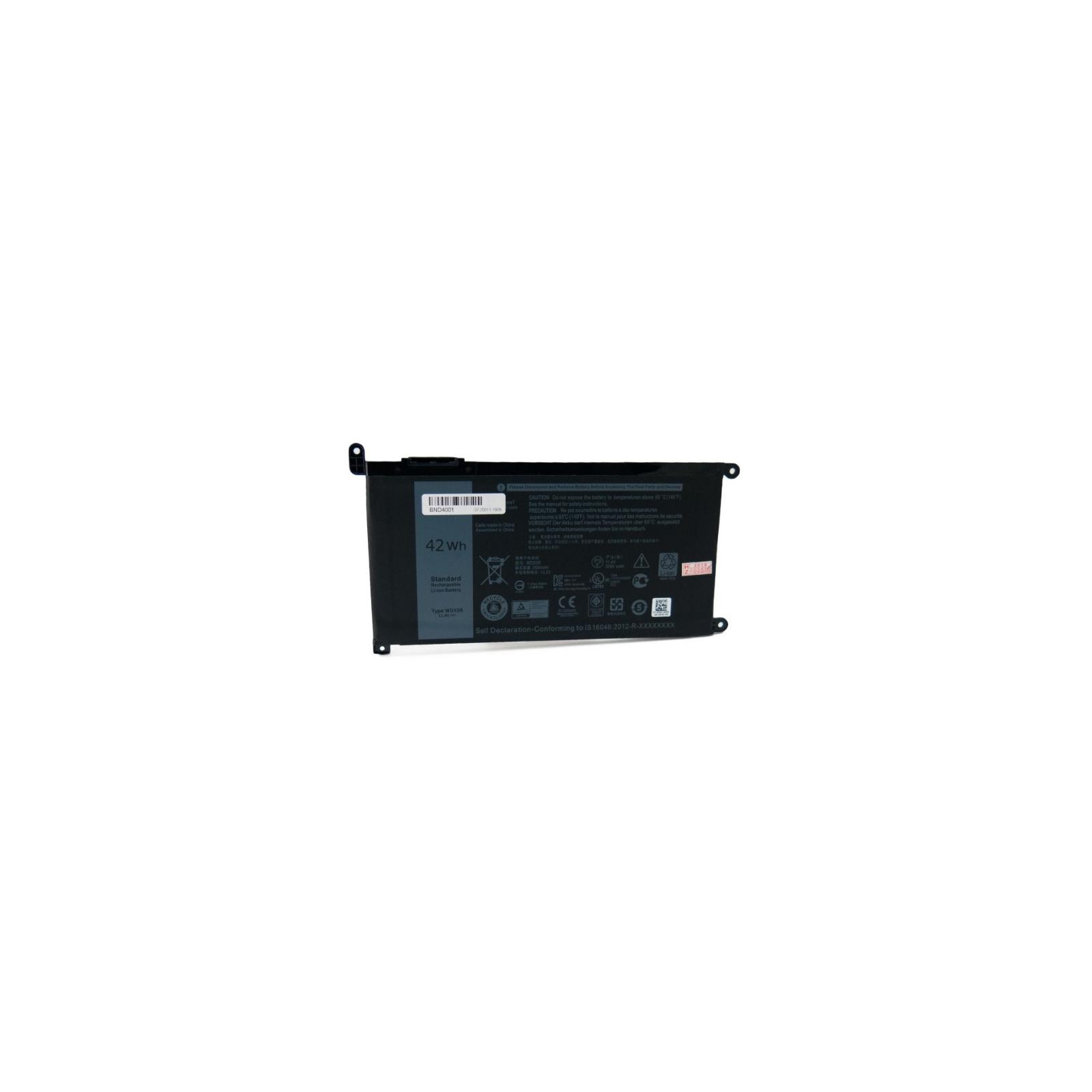 Аккумулятор для ноутбука Dell WDX0R 13.2V, 3500mAh Extradigital (BND4001)