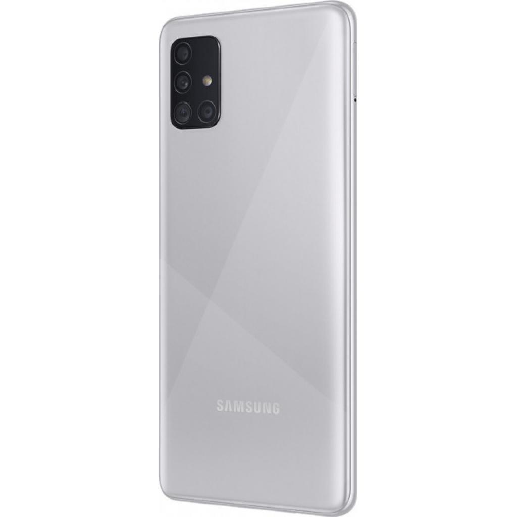 Мобільний телефон Samsung SM-A515FZ (Galaxy A51 4/64Gb) Metallic Silver (SM-A515FMSUSEK) зображення 4