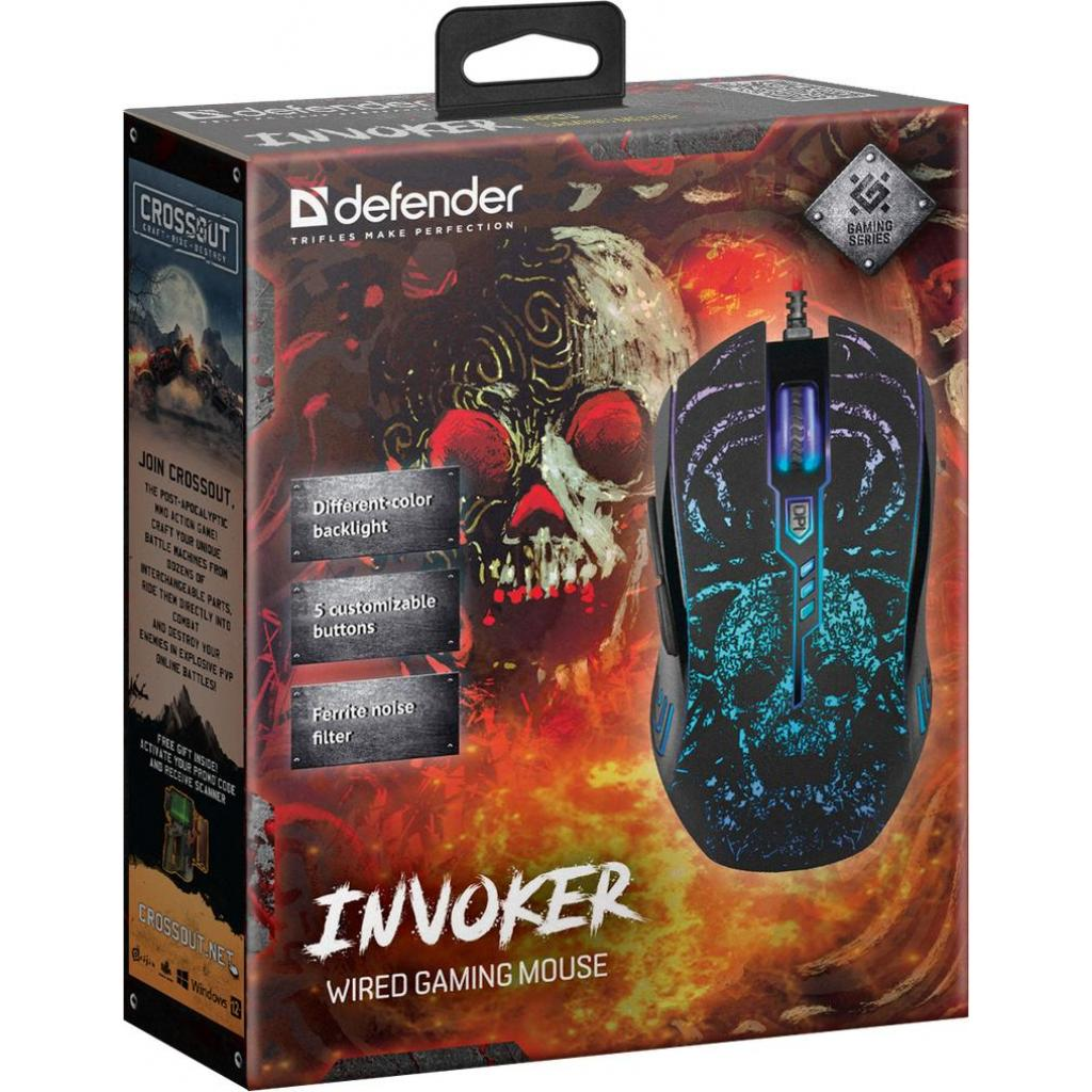 Мышка Defender Invoker GM-947 Black (52947) изображение 8