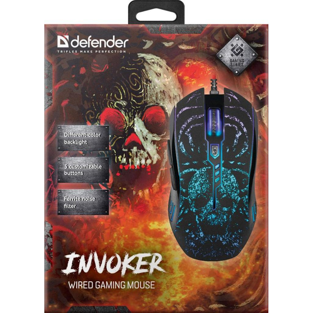 Мышка Defender Invoker GM-947 Black (52947) изображение 9