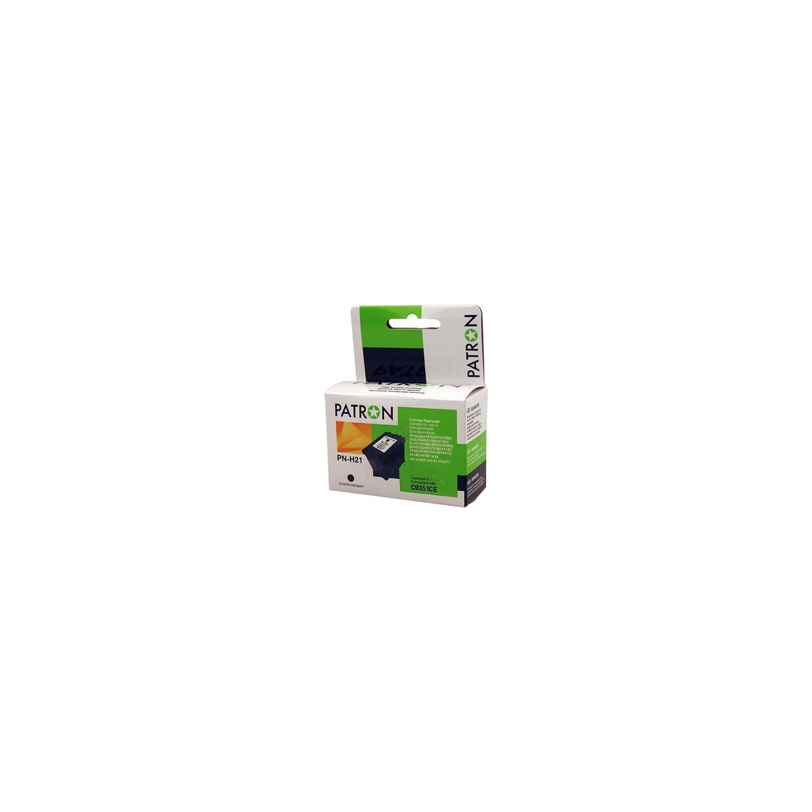 Картридж PATRON для HP PN-H21 BLACK (C9351CE) (CI-HP-C9351CE-B-PN)
