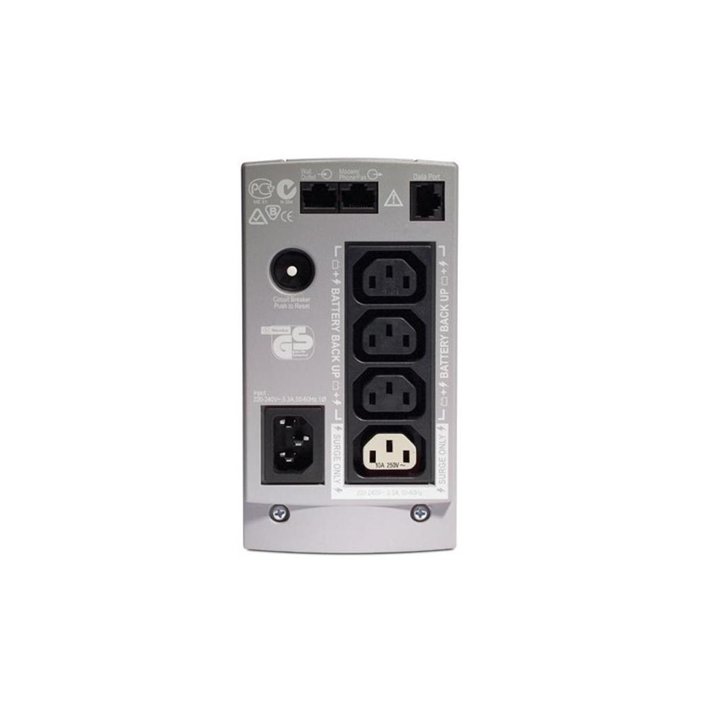Источник бесперебойного питания Back-UPS CS 500 APC (BK500EI) изображение 2