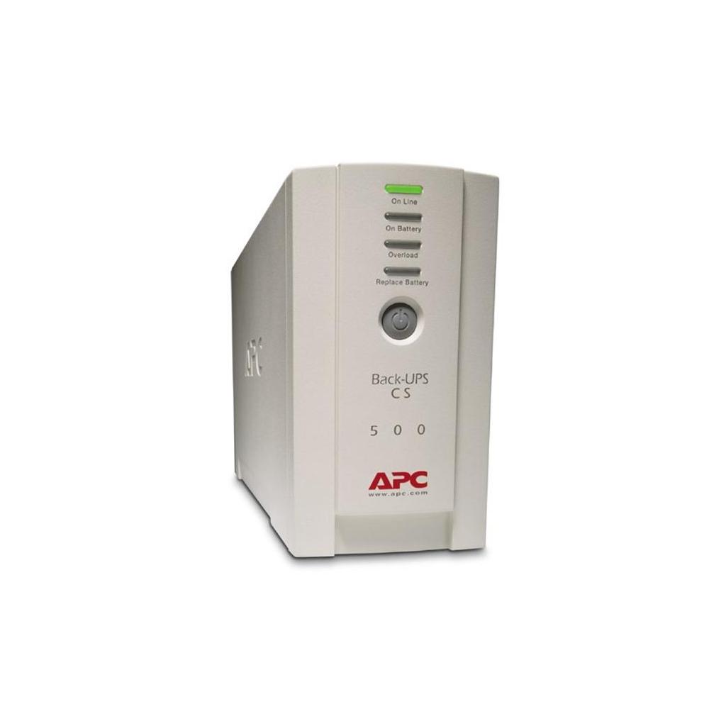 Источник бесперебойного питания Back-UPS CS 500 APC (BK500EI) изображение 3
