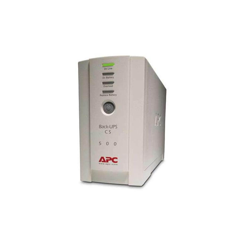 Источник бесперебойного питания Back-UPS CS 500 APC (BK500EI) изображение 4