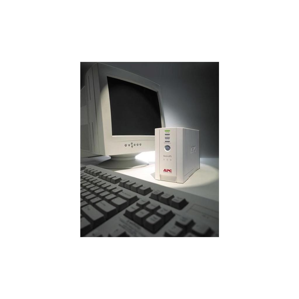 Источник бесперебойного питания Back-UPS CS 500 APC (BK500EI) изображение 5