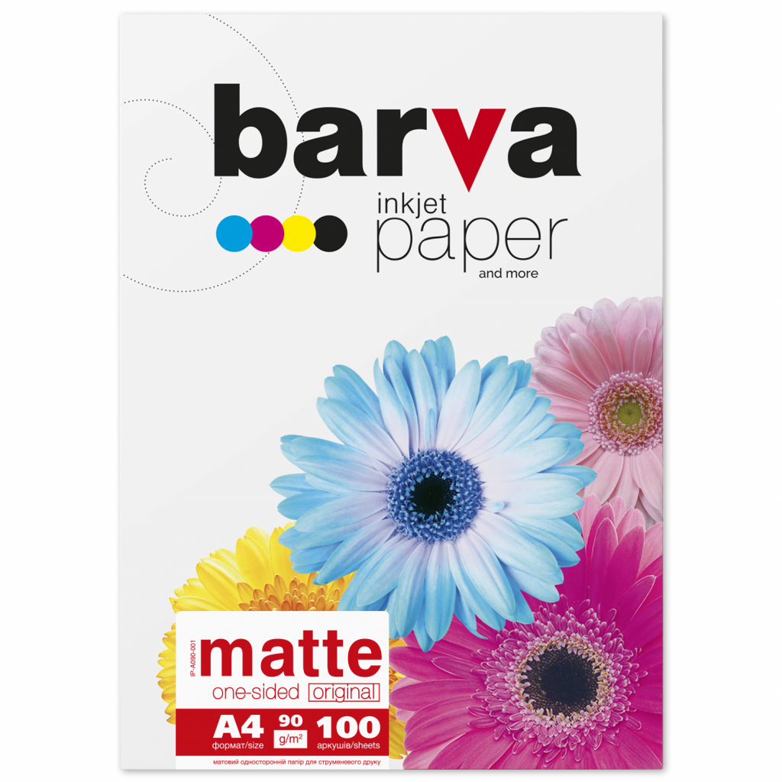 Бумага BARVA A4 (IP-BAR-A090-001)