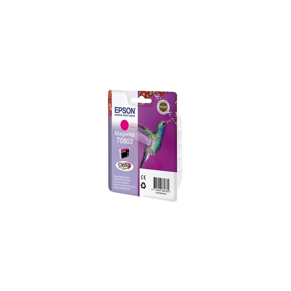 Картридж Epson P50/ PX660/720WD/820FWD magenta (C13T08034010/C13T08034011)