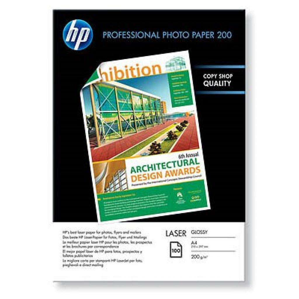 Бумага HP A4 Laser Professional Photo Paper (CG966A)