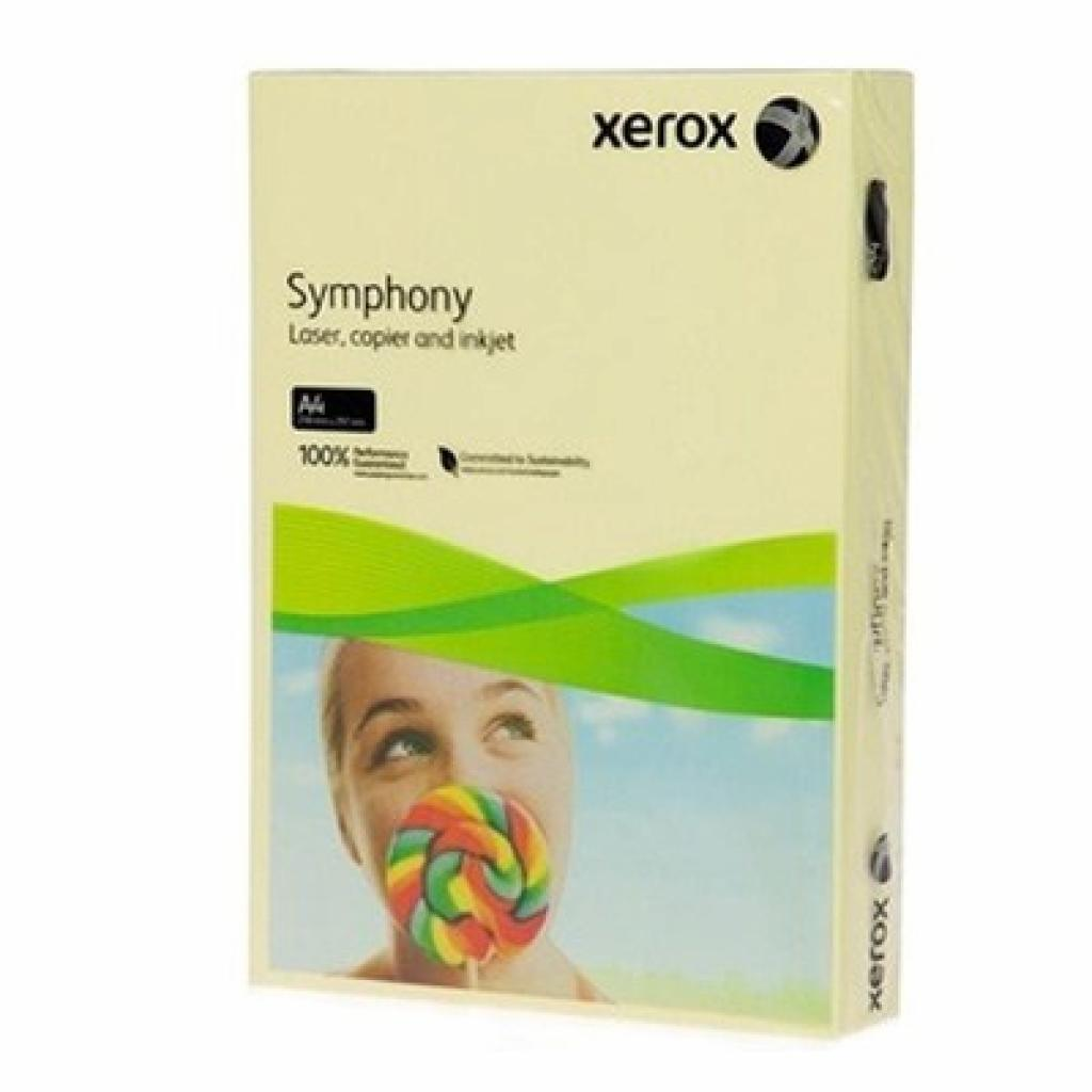 Бумага Xerox A4 SYMPHONY Pastel Yellow (003R93231)
