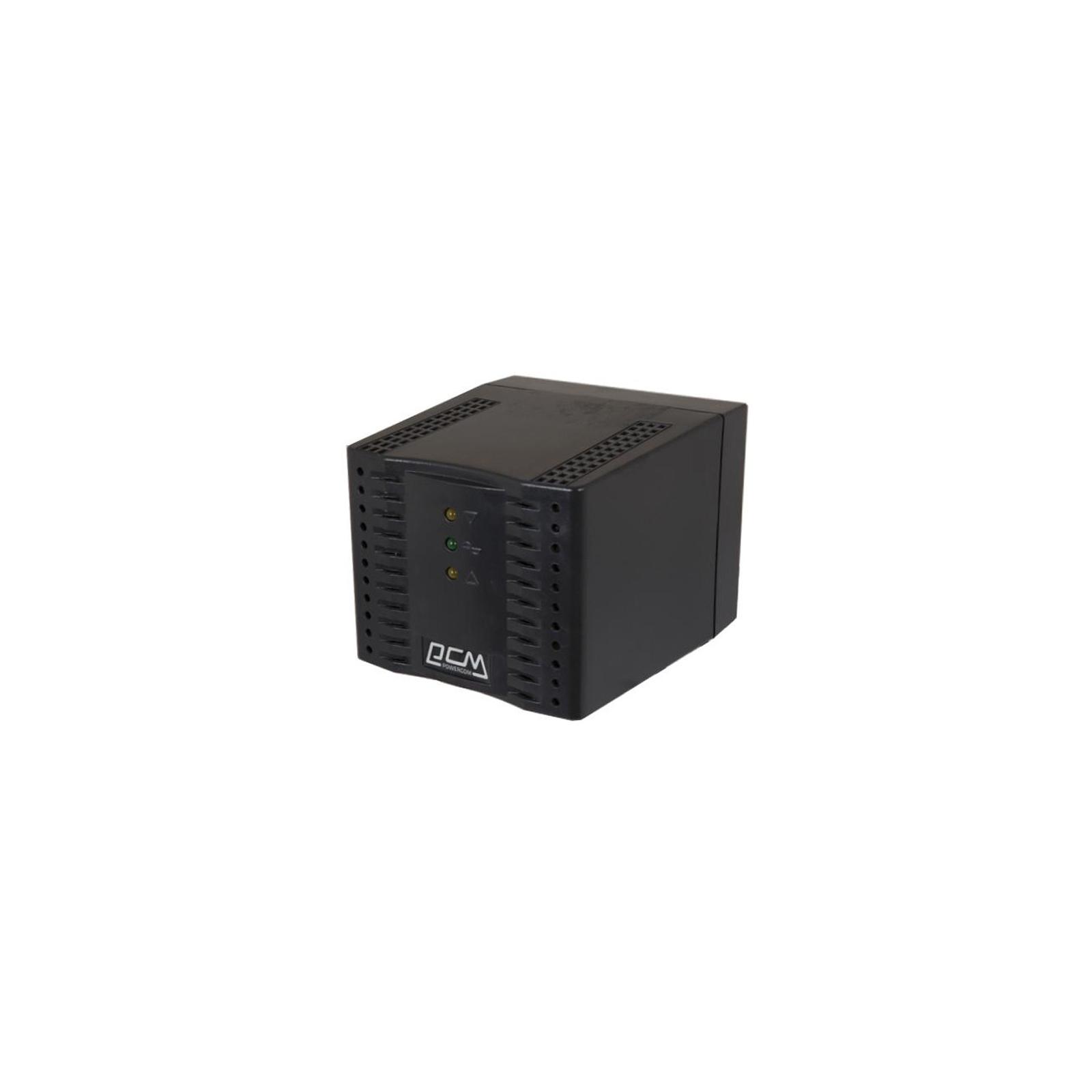 Стабилизатор Powercom TCA-600 black изображение 2