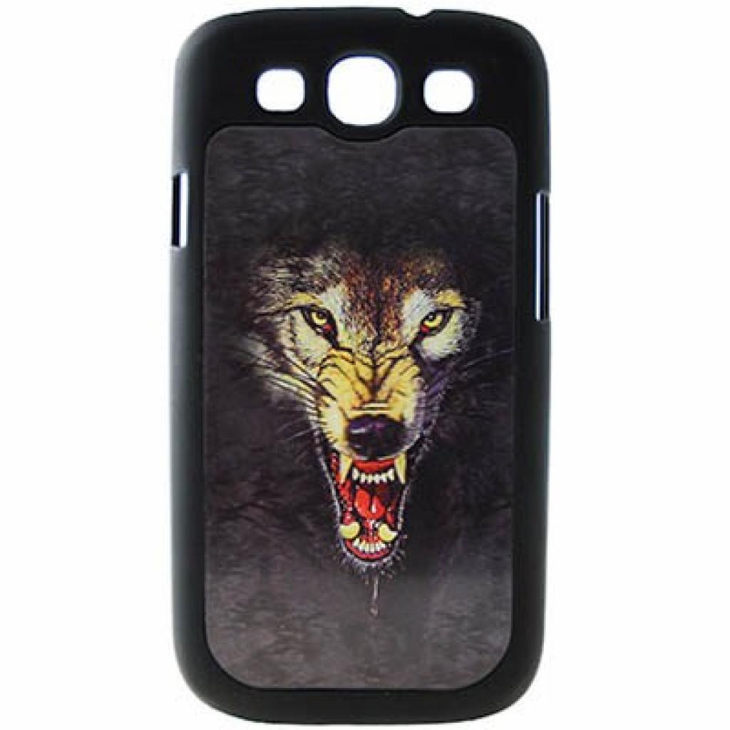 Чехол для моб. телефона Drobak для Samsung I9300 Galaxy S3 (wolf)3D (938911)