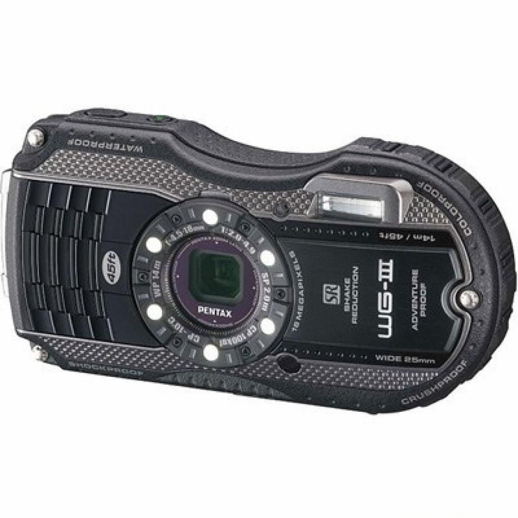 Цифровой фотоаппарат Pentax Optio WG-3 black-grey kit (1268300)
