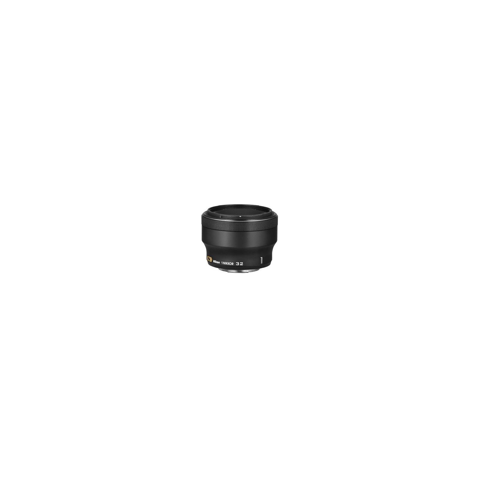 Объектив Nikon 1 Nikkor 32mm f/1.2 black (JVA301DA) изображение 2